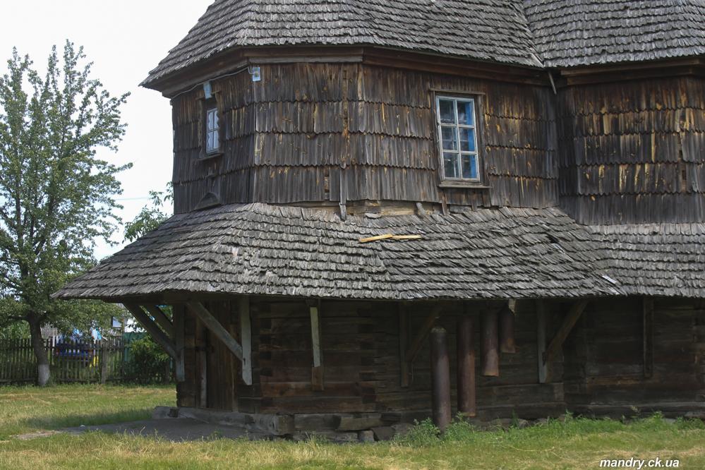 Троїцька церква село Драбівці