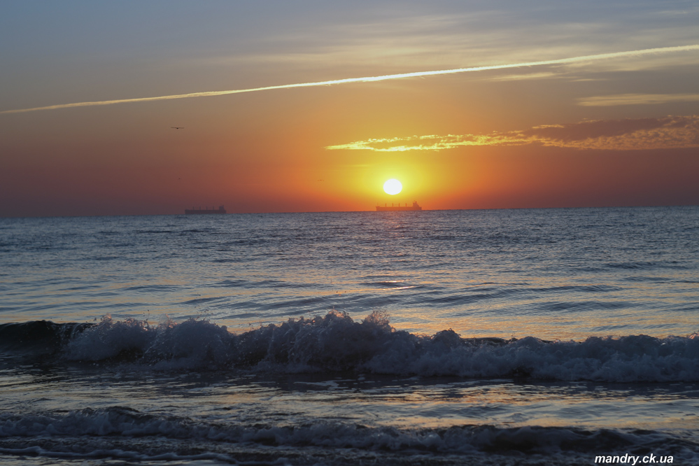 Одеса: схід Сонця