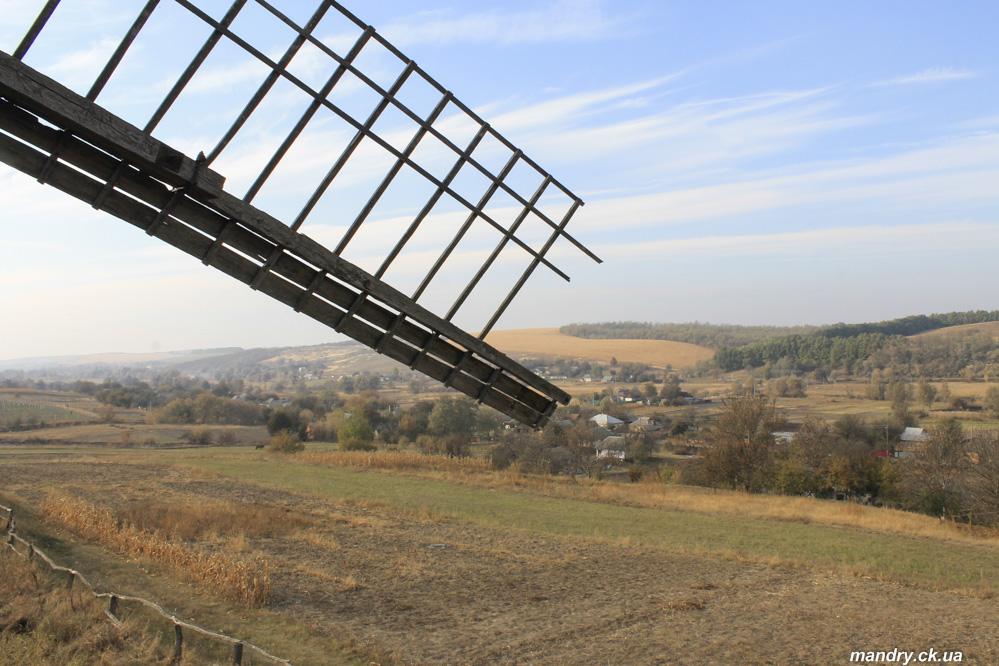 Панорама села Теклине