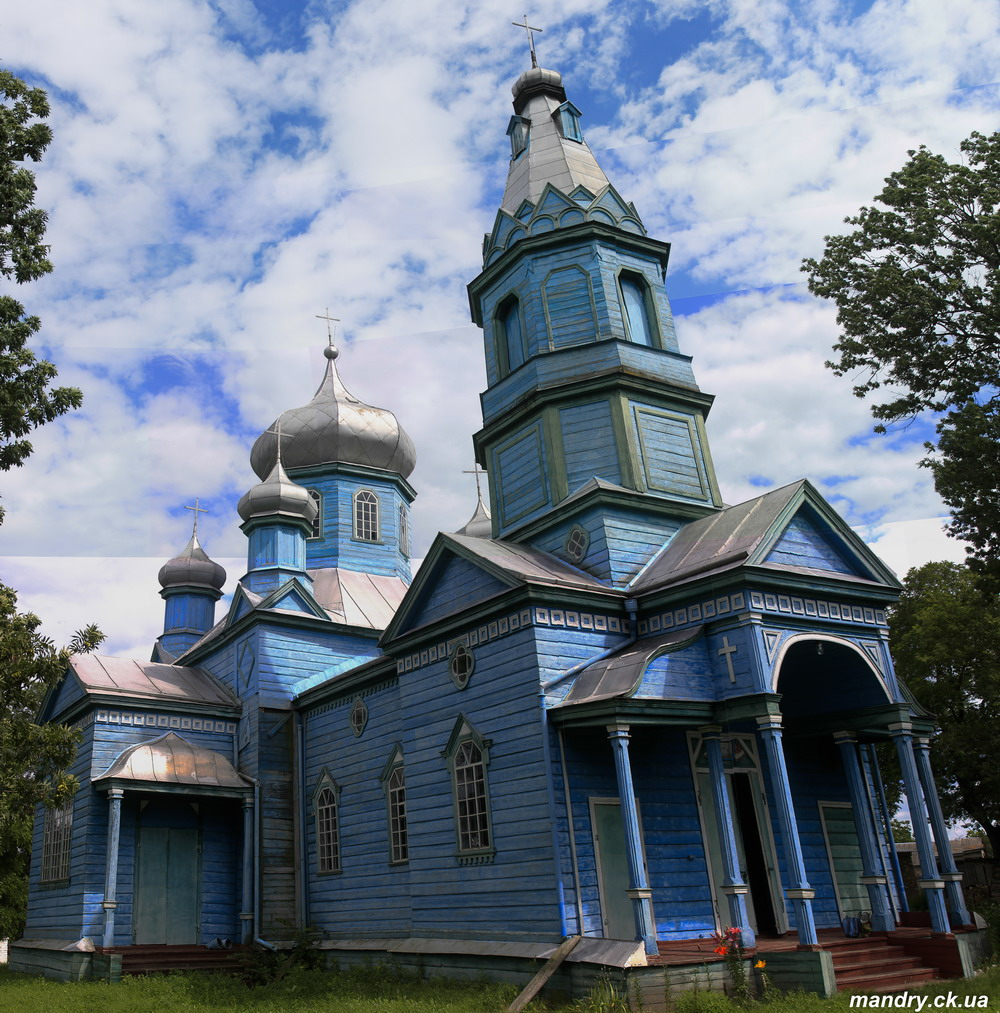 Успенська церква село Жаботин