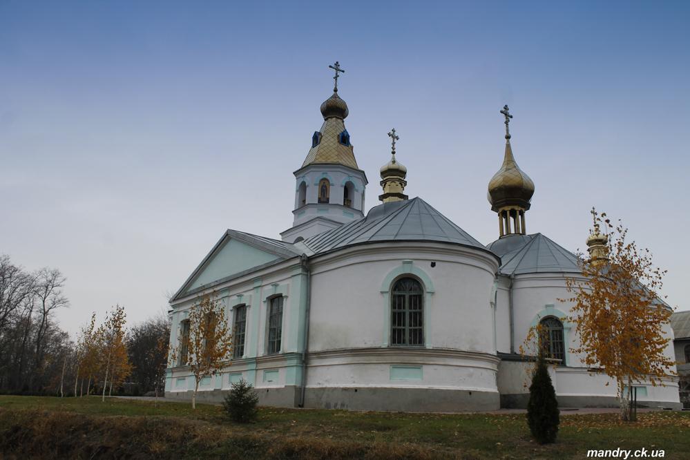 Жаботинський Свято-Онуфріївський монастир