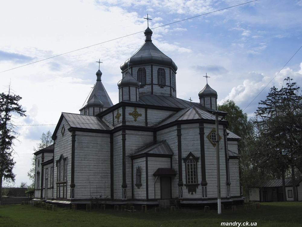 церква св. арх. Михаїла, 1845р.