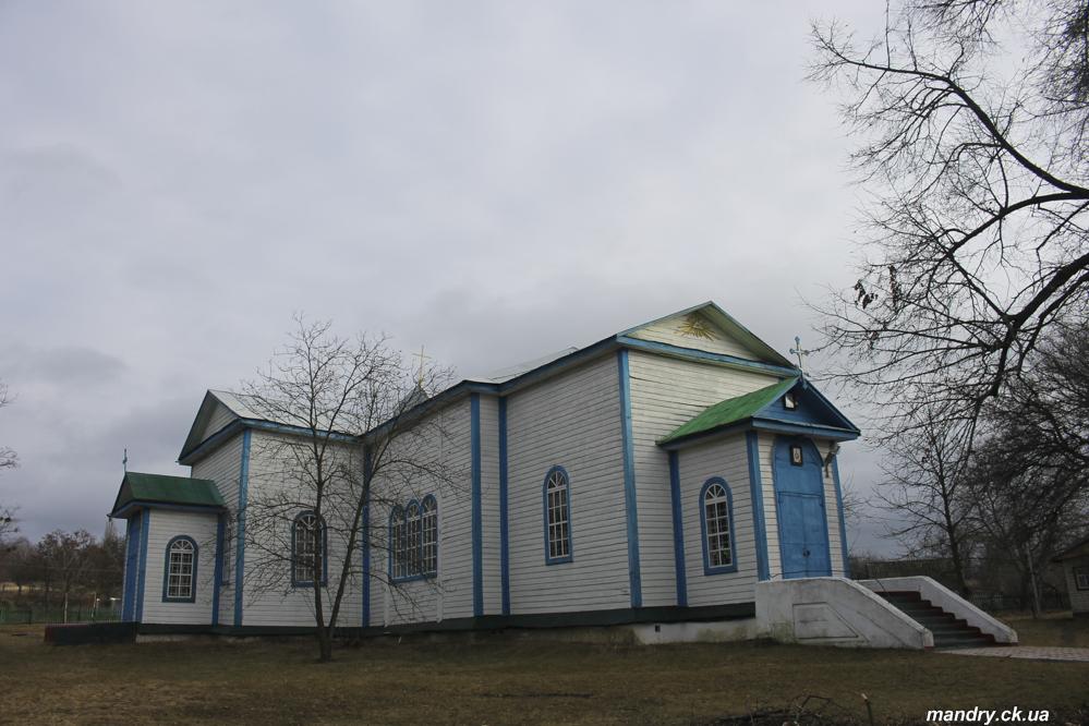 Церква Св Трійці 1864 року у Сунках