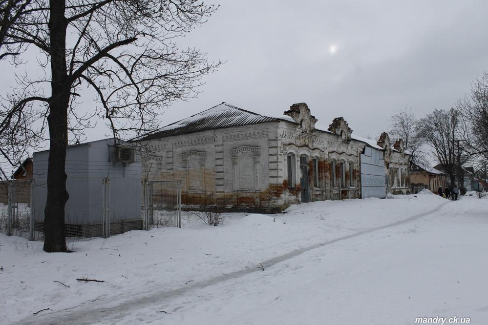 Колишній єврейський магазин Златопіль