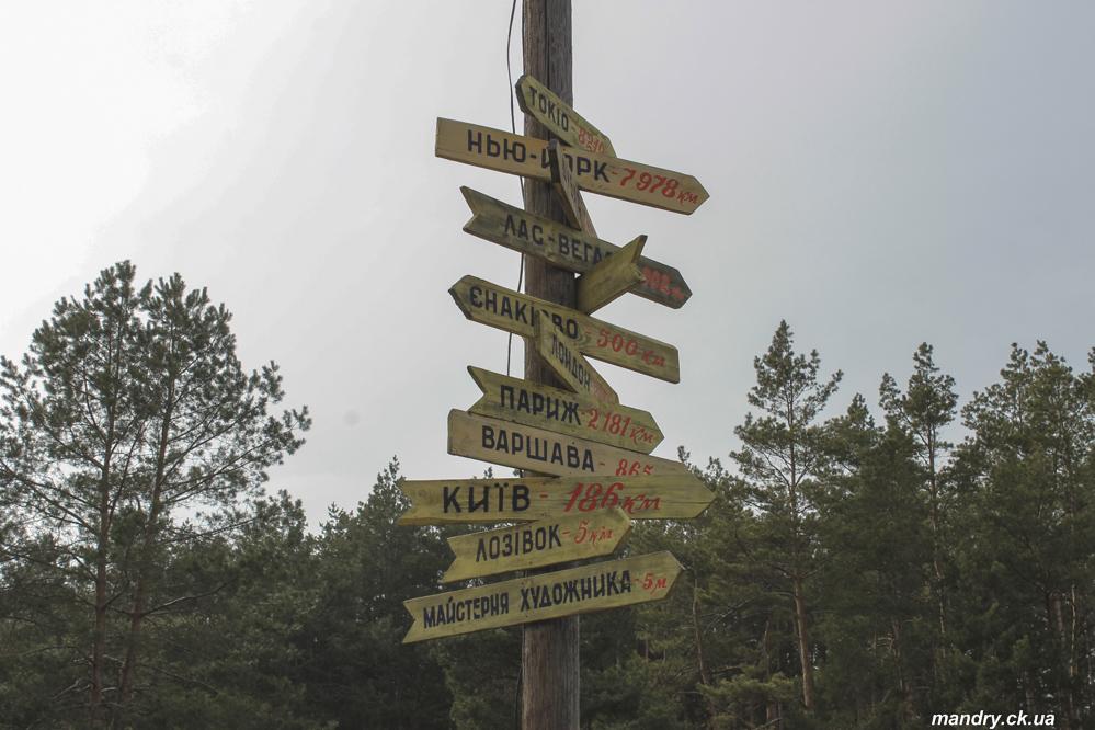 Від Черкас до Тубільців