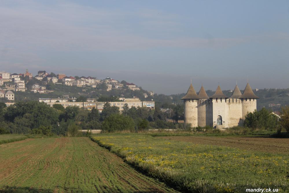 Фортеця в місті Сороки