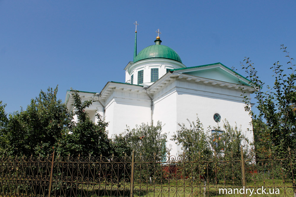 Троїцька церква Гельмязів
