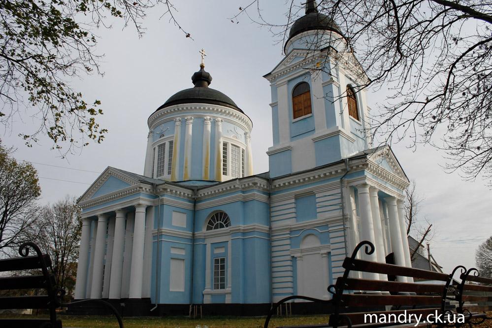 Вознесенська церква Матусів