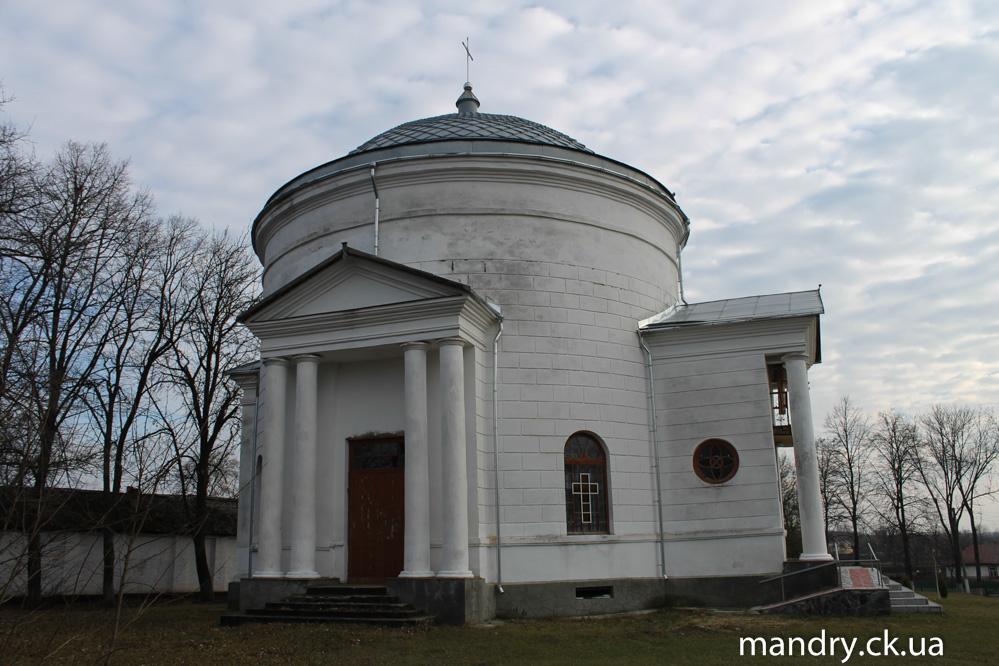 церква Святої Олександри у селі Лебедівка