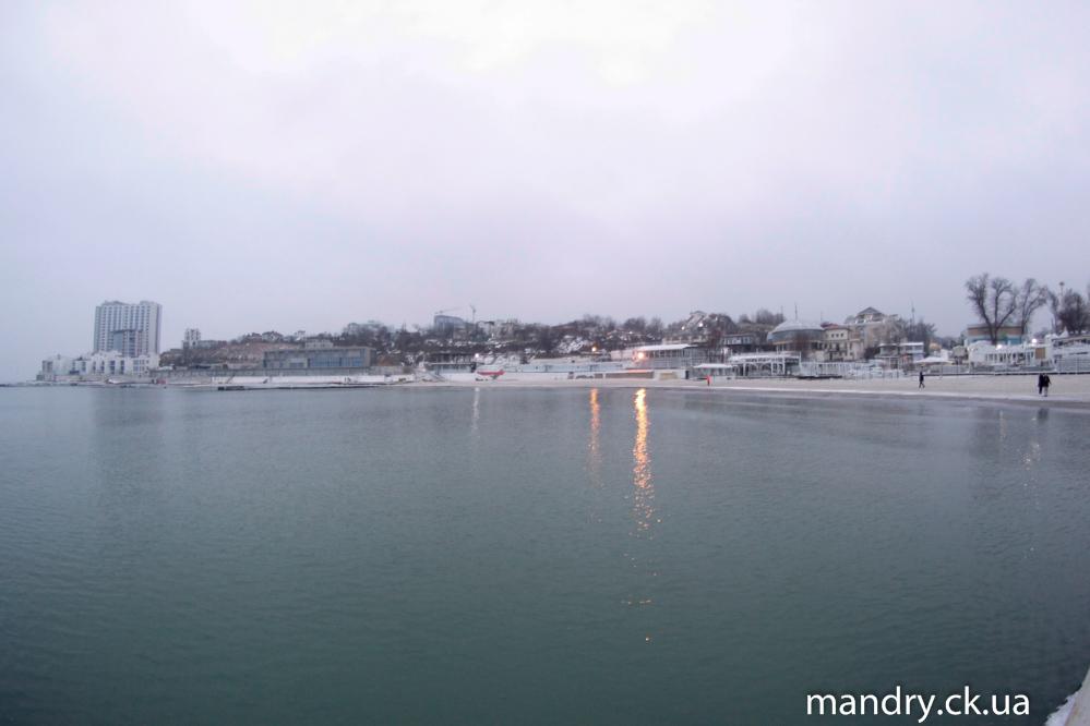 Аркадія взимку