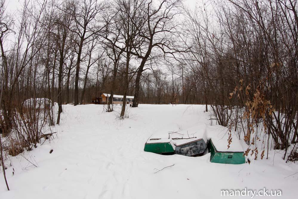 Зимовий велопохід на ірдинське болото