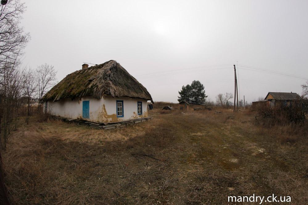 стара хата в Нечаївці