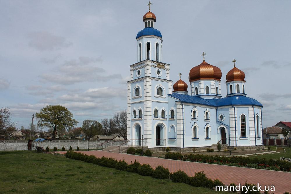 церква в селі Будище