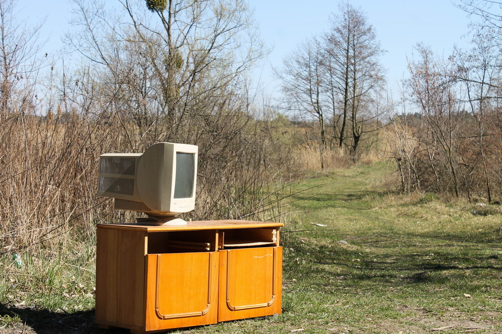 Компютер в болоті