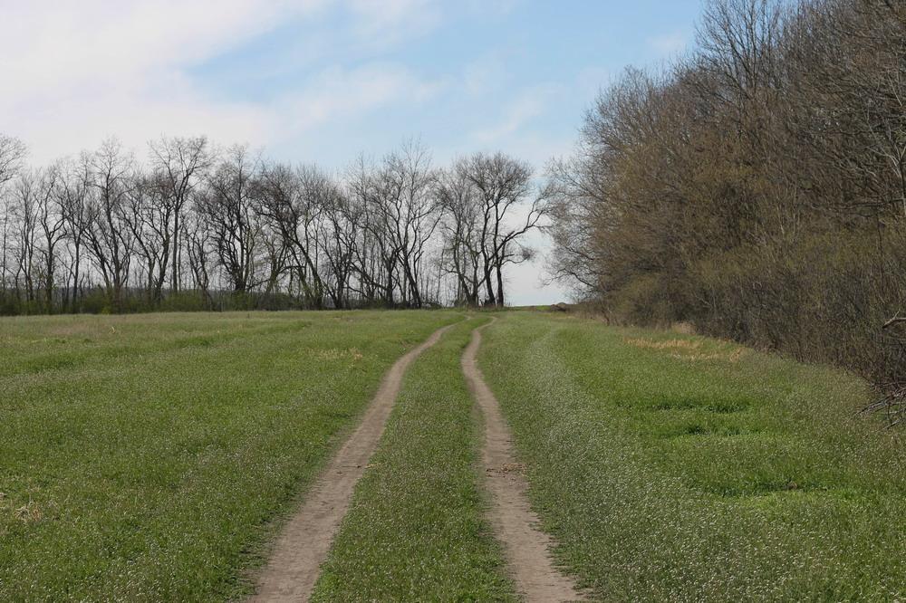 дорога поблизу Юрової гори