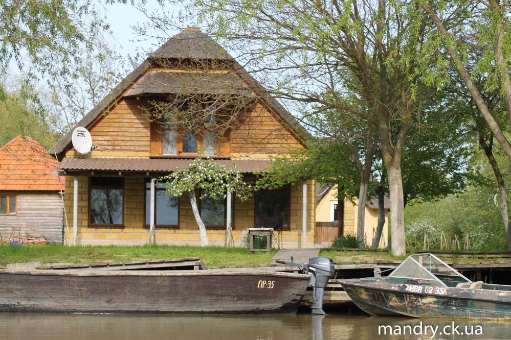 сучасний дім в дельті Дунаю