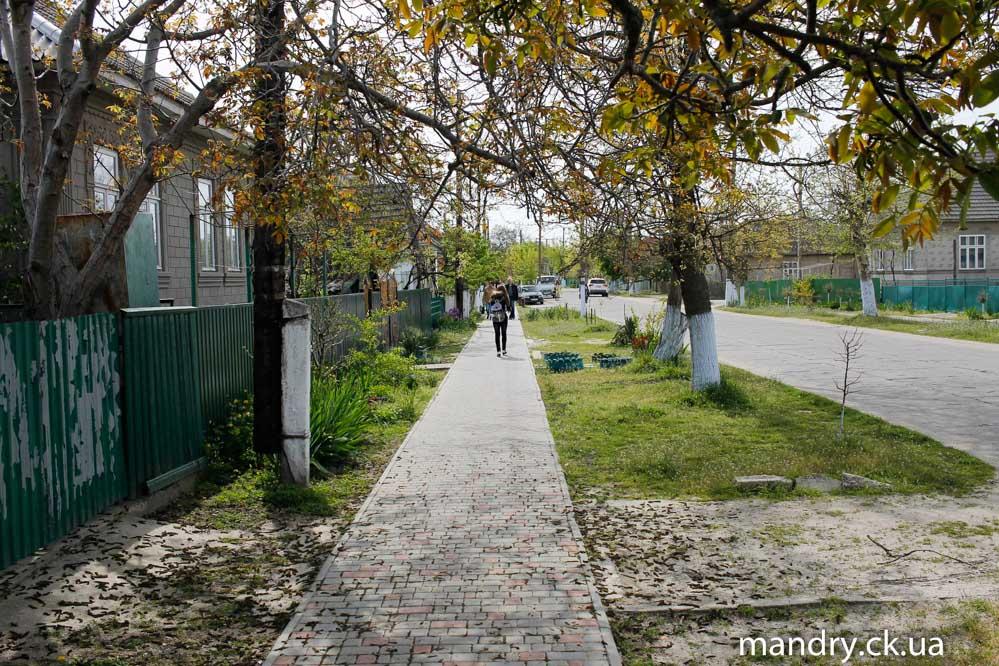 Вилково тротуарна плитка як в Черкасах