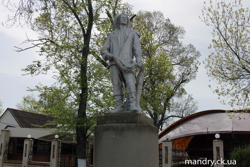 пам'ятник Рибалці Вилкове