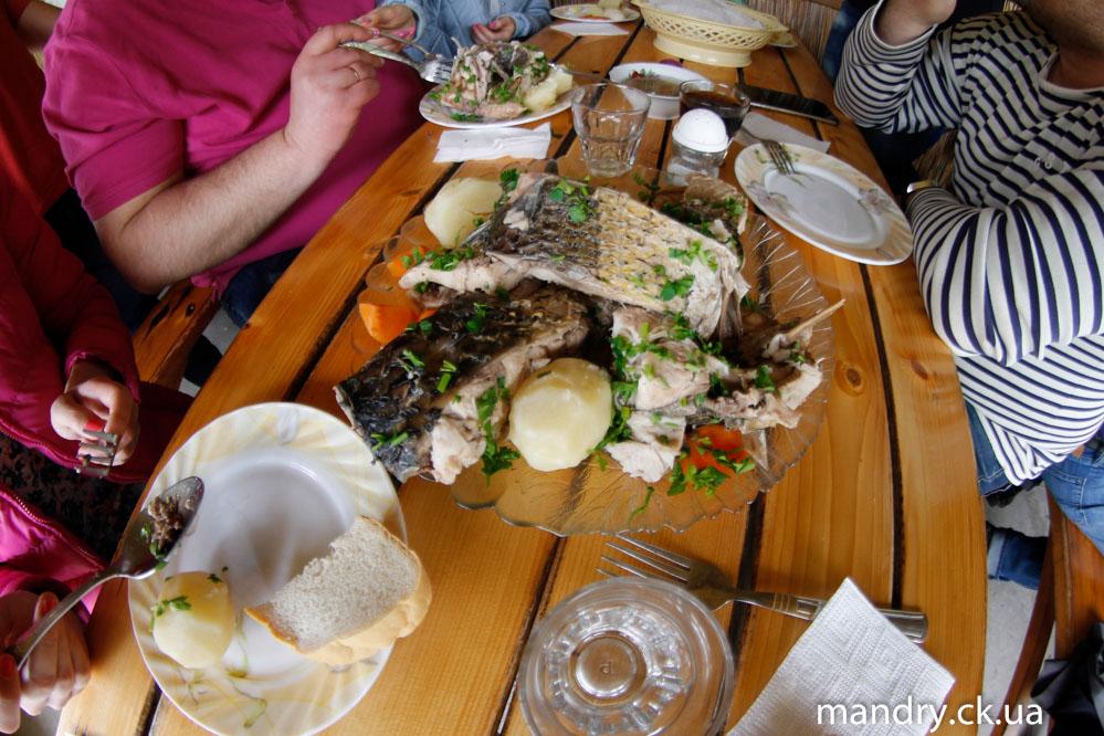 смачний обід на Квакенбурзі