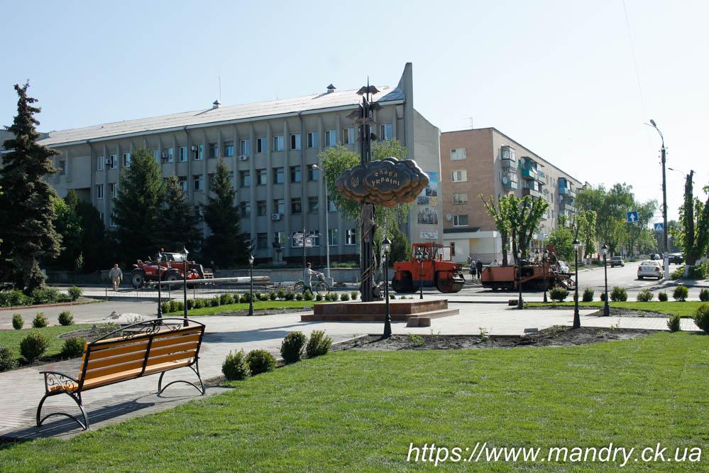 Кам'янка центр міста