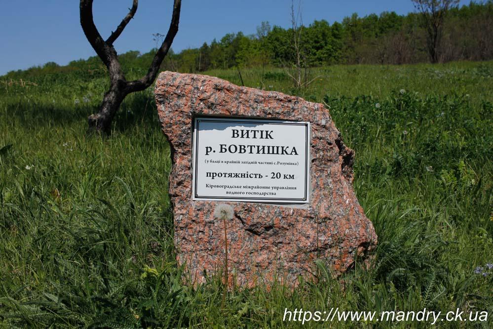 Витік річки Бовтишка