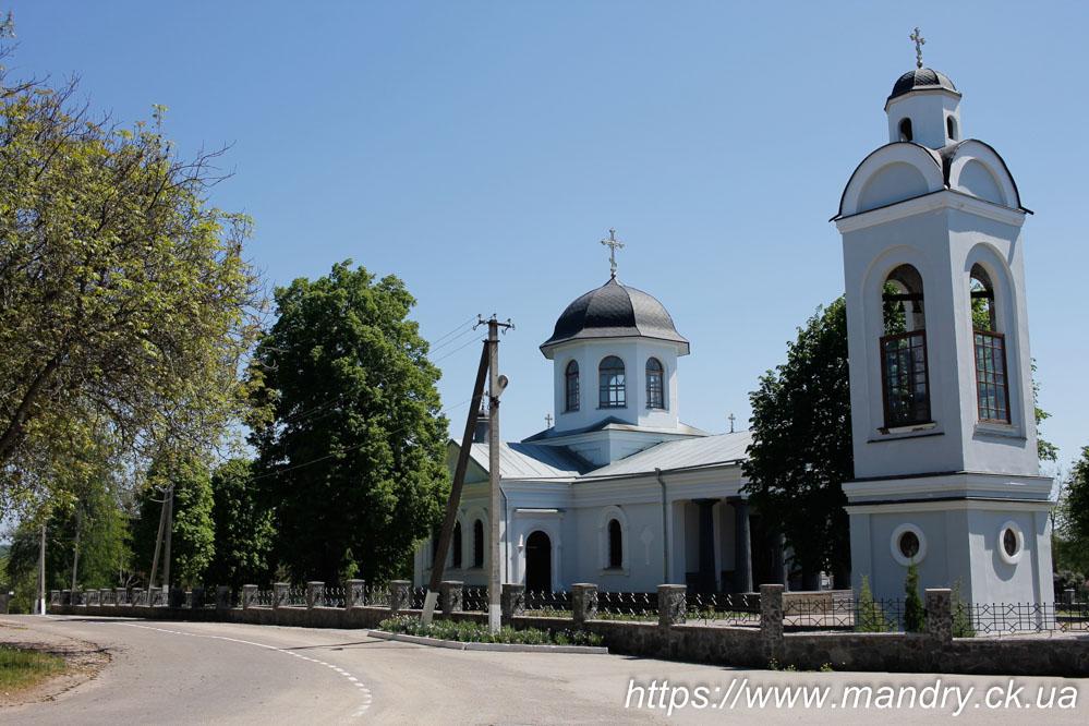 Хрестовоздви́женська це́рква