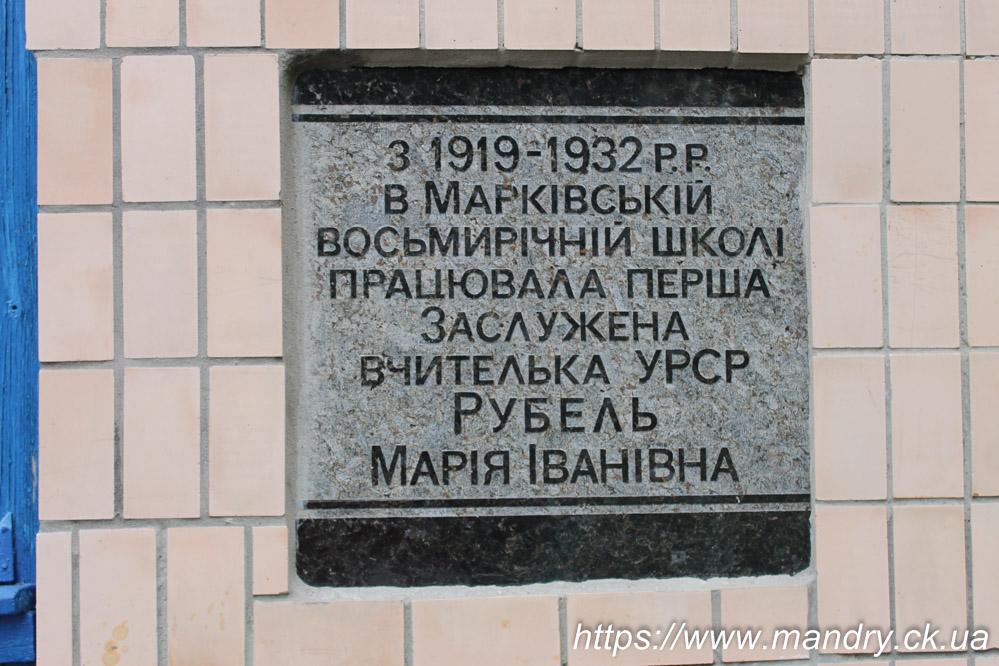 Марківка школа