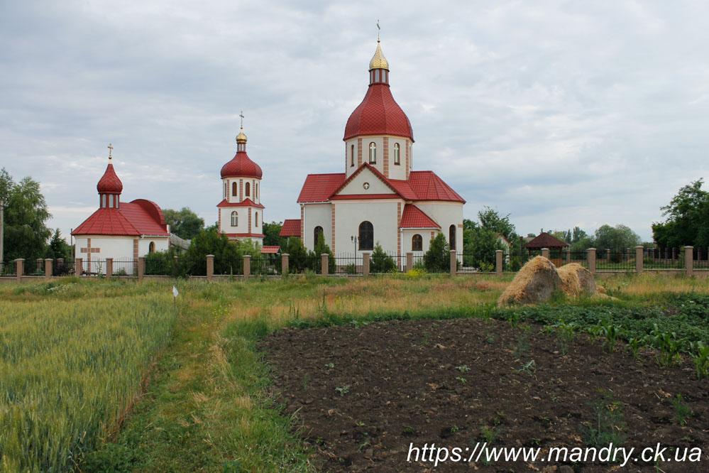Преображенська церква Дрижина Гребля