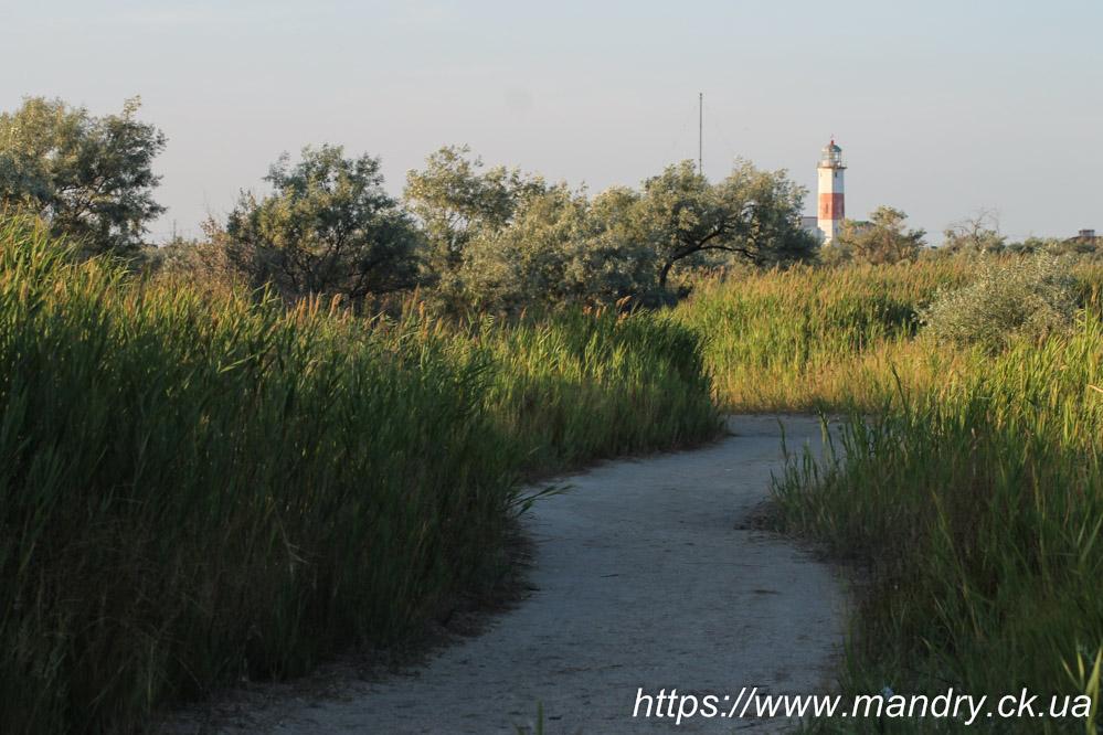 маяк в Бердянську