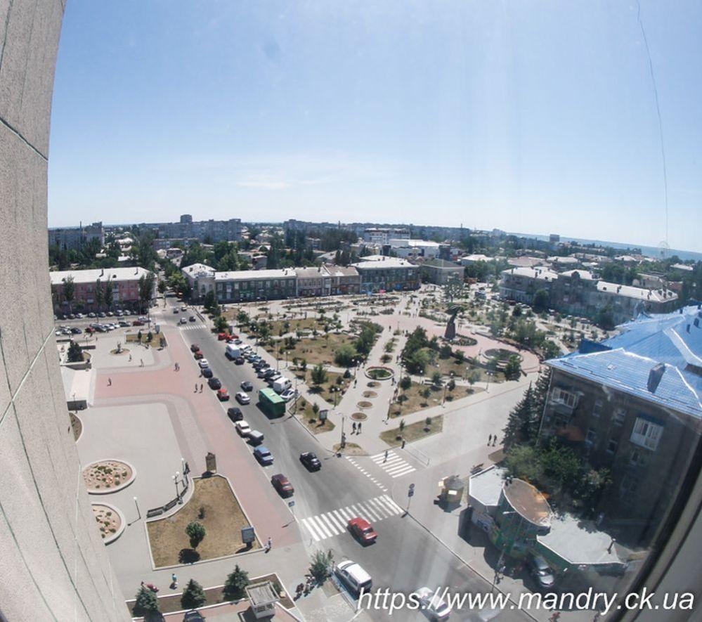 "Вид з готелю ""Бердянськ"""