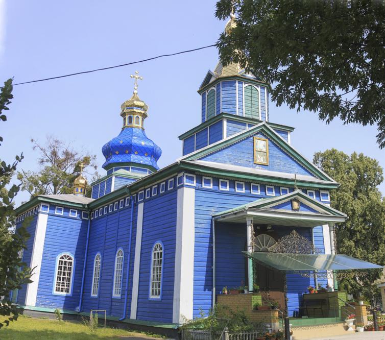 село Білозір'я Святопреображенська церква