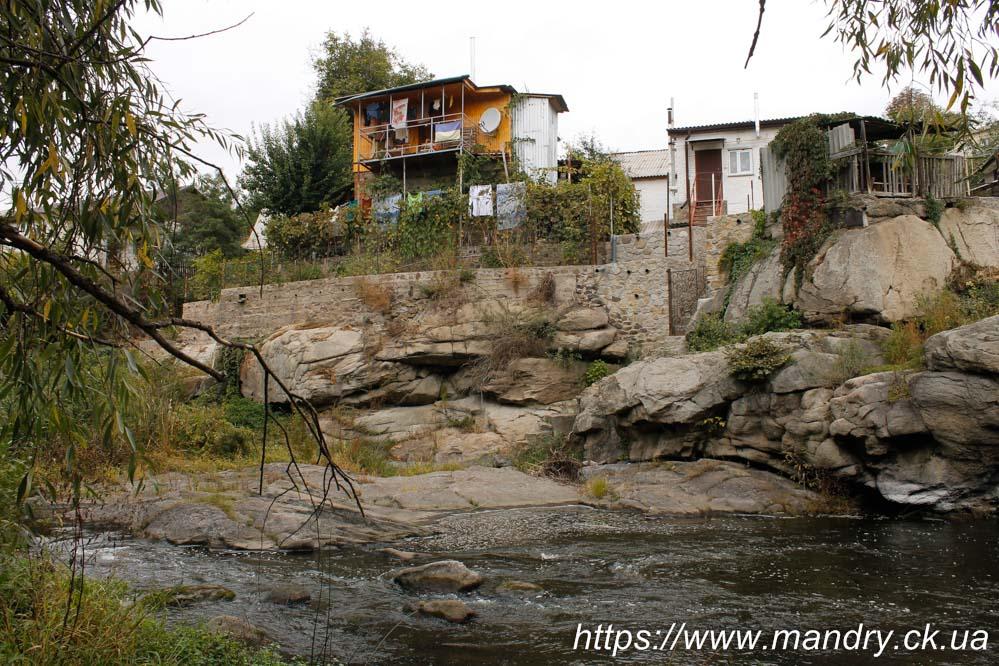 будиночки над Росю в Богуславі