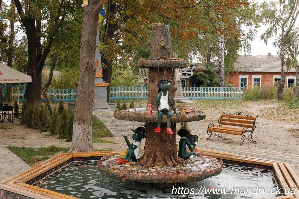 фонтанчик в Богуславі