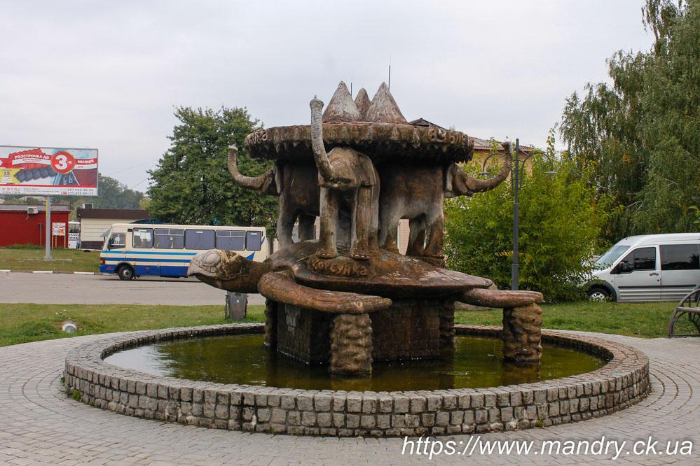 фонтан в Богуславі