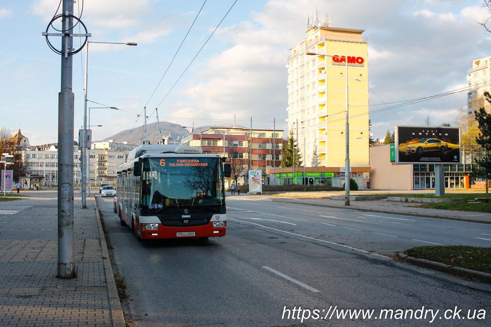 тролейбус в Банській Бистриці