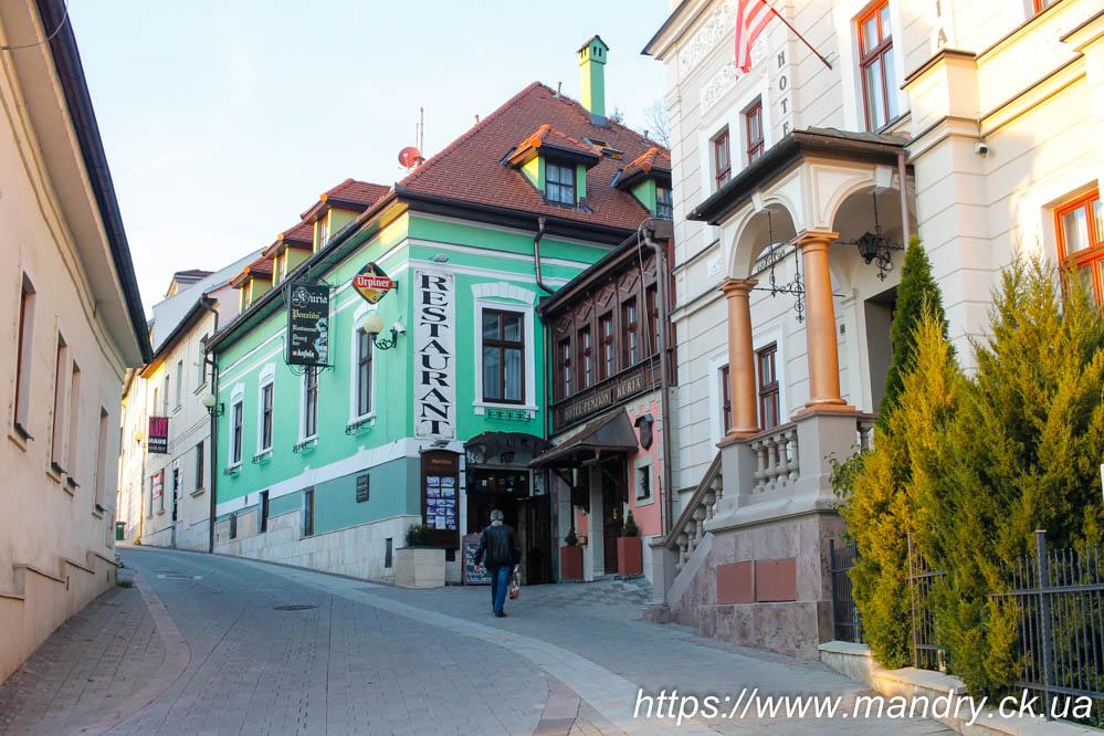 вулиці Банської Бистриці