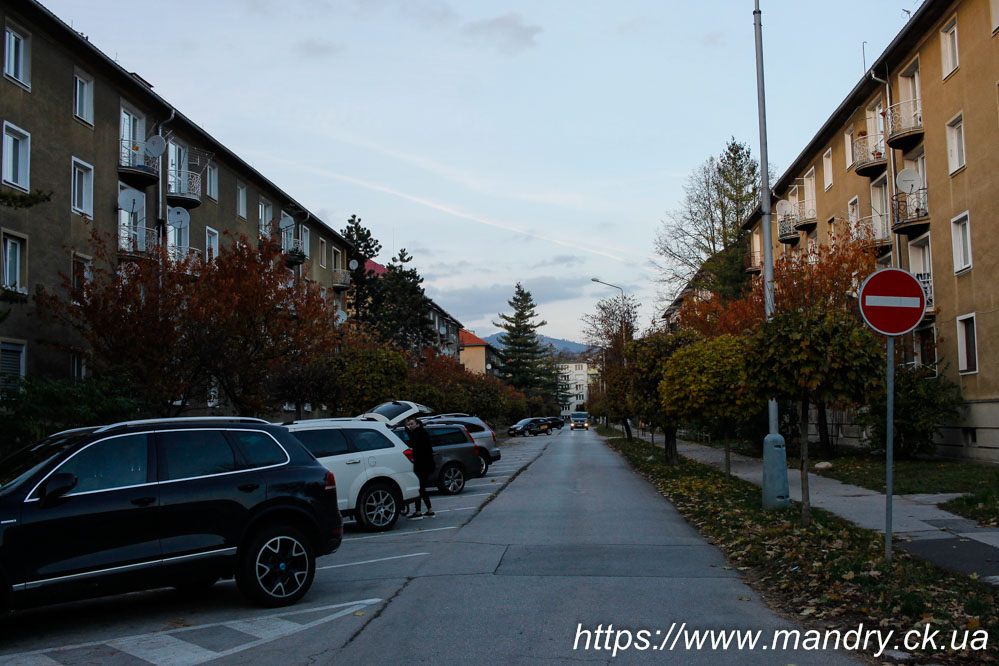 вуличка в Банській Бистриці