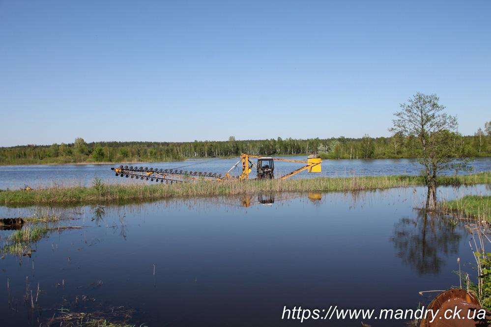 затоплена розробка на ірдинському болоті