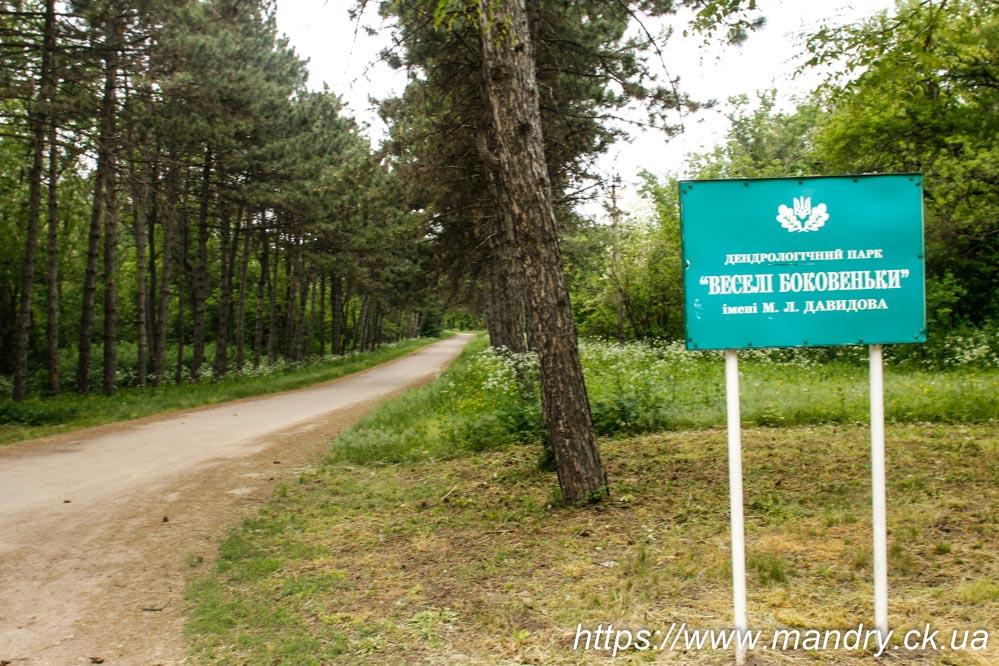 дендрологічний парк Веселі Боковеньки імені М.Л. Давидова