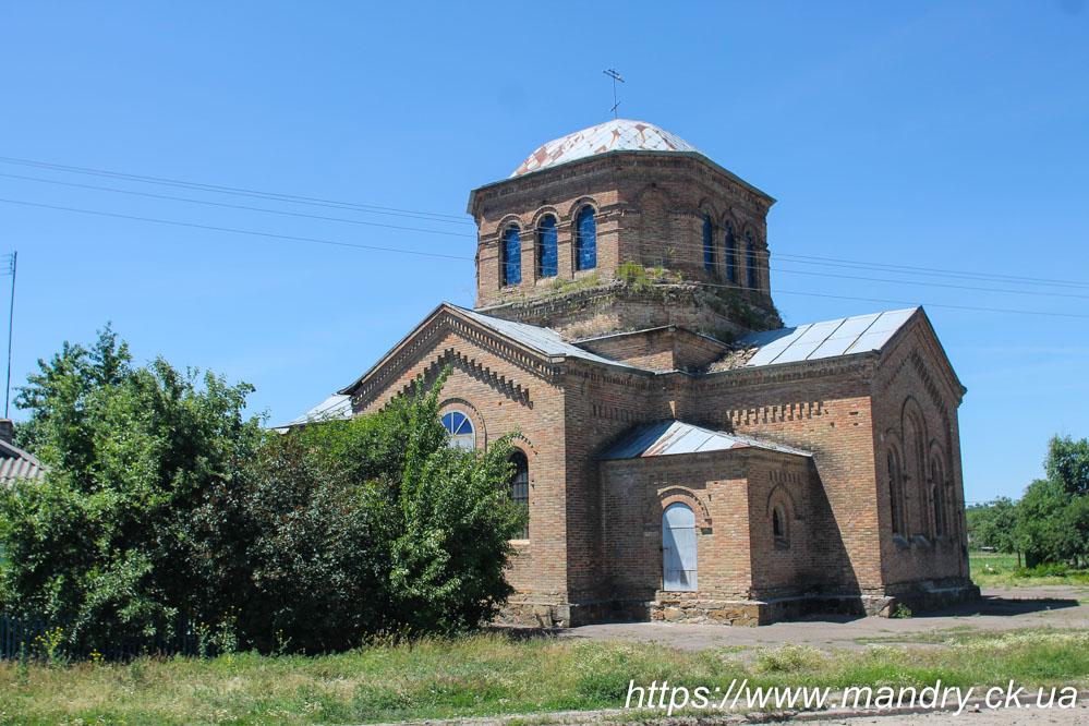 церква село Березівка