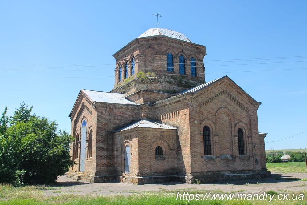 Церква Св. Йосипа Обручника в селі Березівка