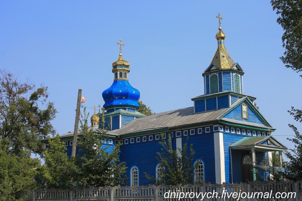 Святопреображенська церква в селі Білозір'я