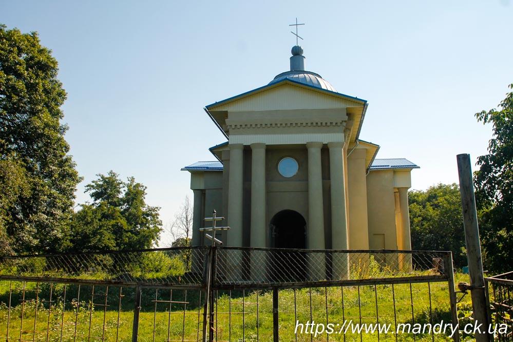 церква в Буртах