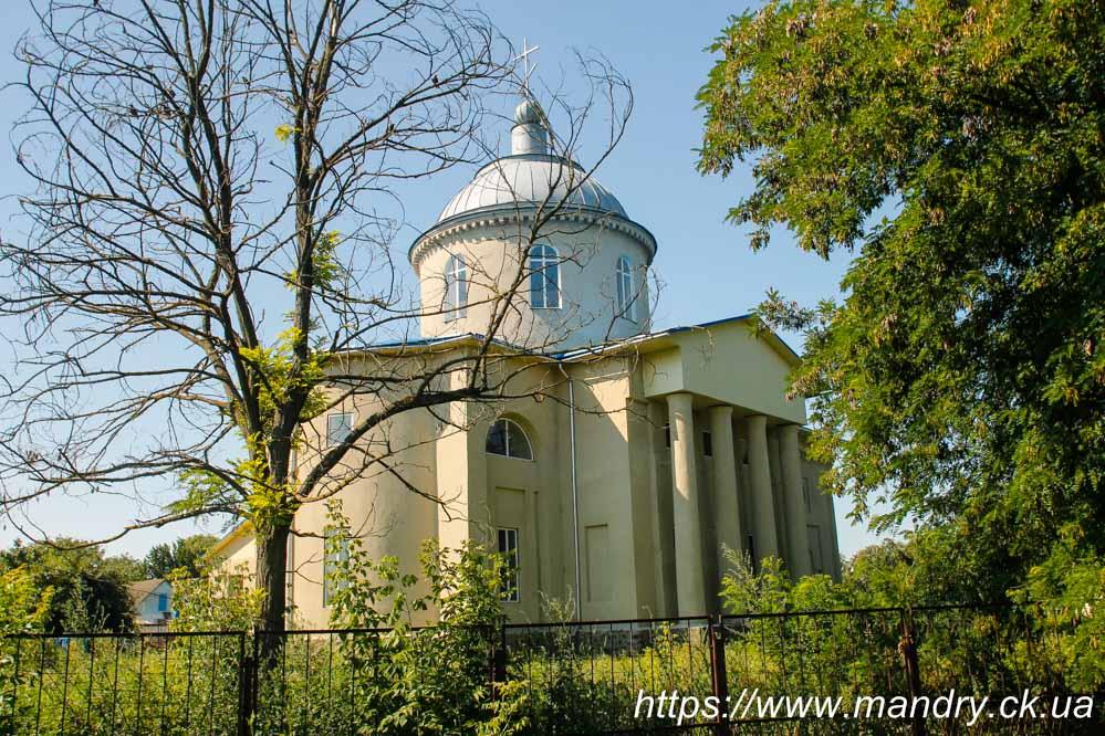 Церква Покрови Пресвятої Богородиці в с. Бурти