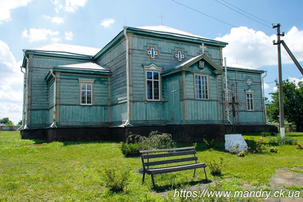 дерев'яна церква в Хлистунівці