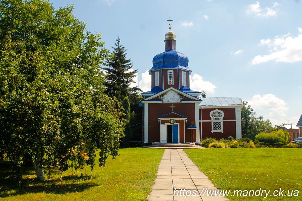 Успенська церква В'язівок