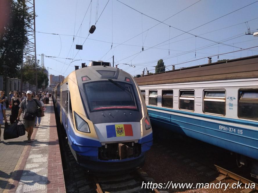 поїзд Одеса - Кишинів
