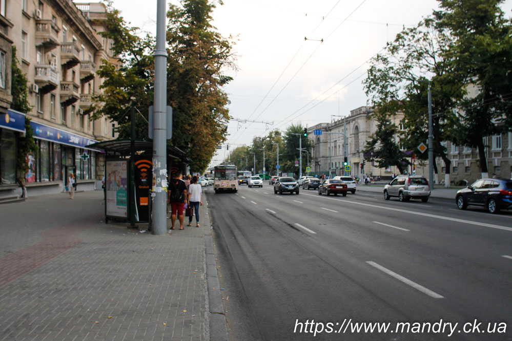 Тролейбус в Кишиневі