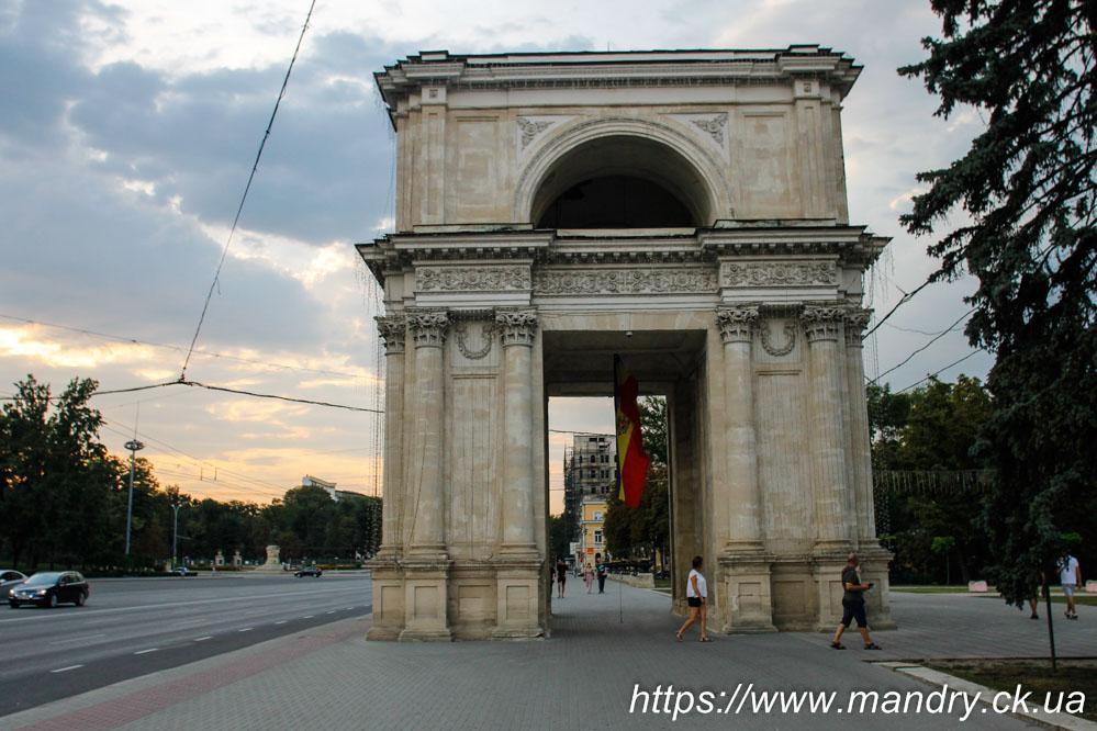 Arcul de Triumf din Chișinău