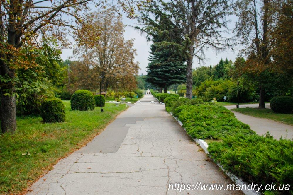 ботанічний сад в Кишиневі